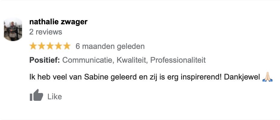 Review Sabine Meulenbeld
